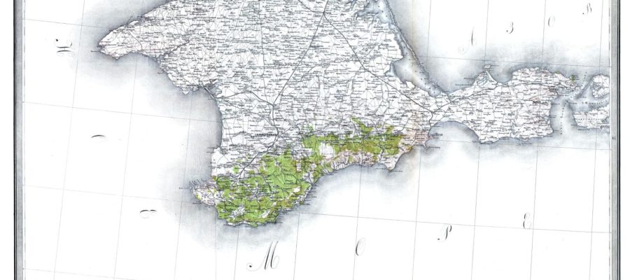 Стрільбицький. Спеціальна карта. Крим.
