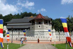 Буддійський Храм Зуб Будди(Далада Малігава). Шрі-Ланка. Побудований у першій половині ХVІІІ ст.