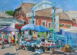 «Рынок в г. Ромны» (2013 р.)