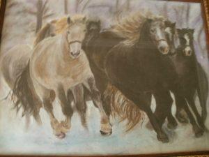 Табун коней
