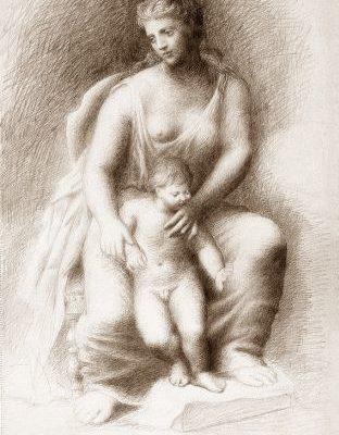 Мати й дитя, Пікассо