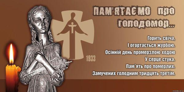 Голодомор - геноцид Росії проти українського народу.