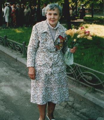 Хмиленко Галина Степанівна - ветеран Великої Вітчизняної Війни.