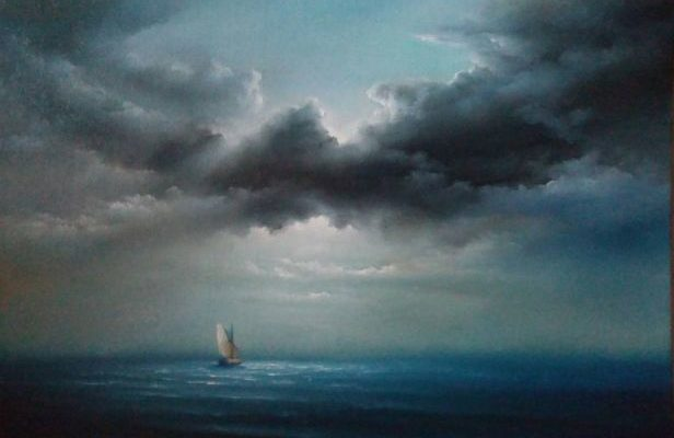 Хмари над морем