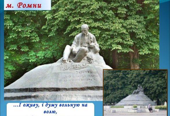 Шевченко в Ромнах