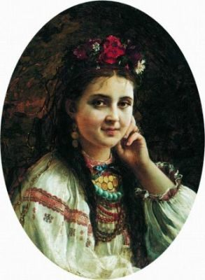 Українка-красуня