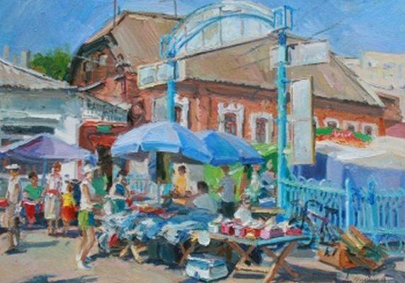 Іллінський базар, Ромни