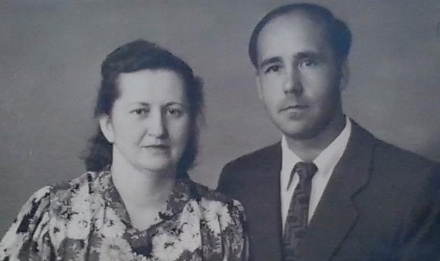 Л.Струтинський з дружиною Зінаїдою Афанасіївною