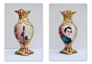 Ювілейні вази з портретом Т.Г. Шевченка