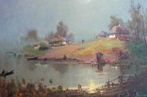 Тихо над річкою