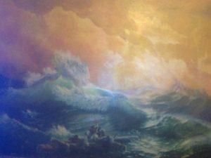 Копія картини Айвазовського «Дев'ятий вал»