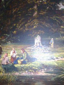 Копія фрагменту картини Шишкіна «По гриби»