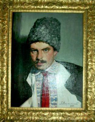 Михайловський Микола Олександрович. Портрет, написаний у 1924 році (Реставратор О.Северин)