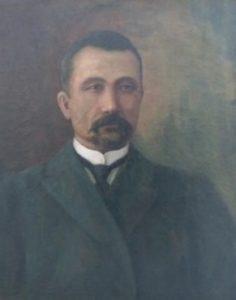 Портрет І.М.Василенка, активіста Роменської «Просвіти»