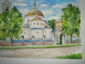 Вознесенська церква, робота Т. Гордієнко