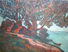«Будиночки під деревом» (1911)