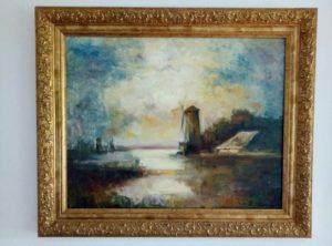 Копія з картини І. Айвазовського