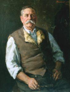 Портрет П.Ольховського – командира броненосця «Потёмкин»