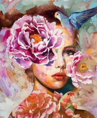 Весна в душе женщины Димитра Милан