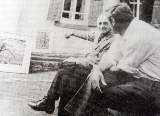 І.І. Желаєв в гостях у В.К.Зосенка