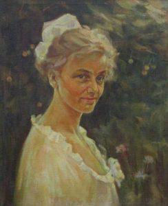Випускниця (портрет сестри)