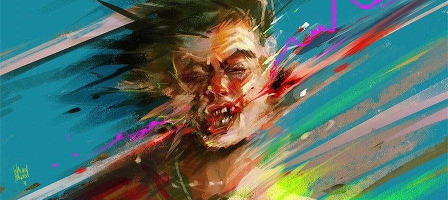 "Картина ""эмоции"" Nacho Yague"