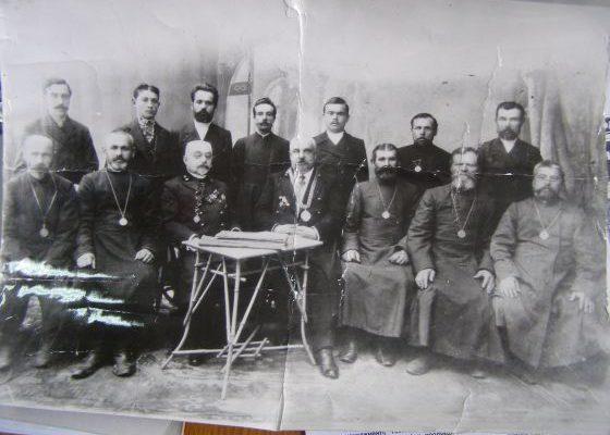 Останні козаки-старшини роменських сіл.