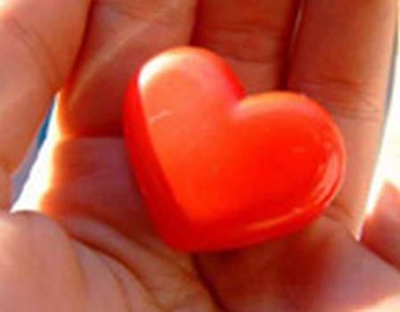 Серце на долоні