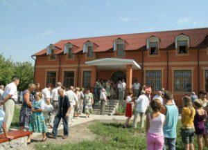 Центр Здоров'я в с. Анастасівка, подарований землякам О.О. Скоромцем.