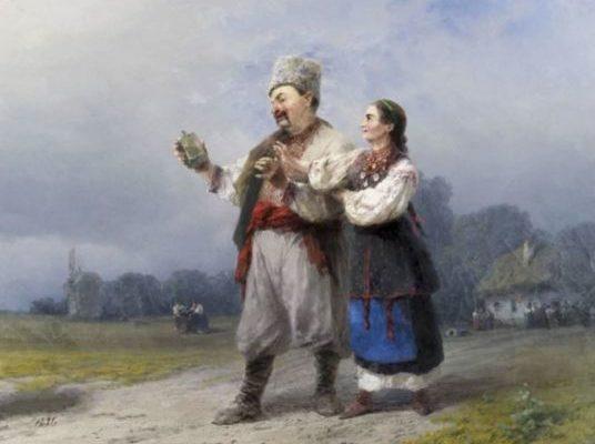 Возвращение со свадьбы. Иван Константинович Айвазовский, 1891.