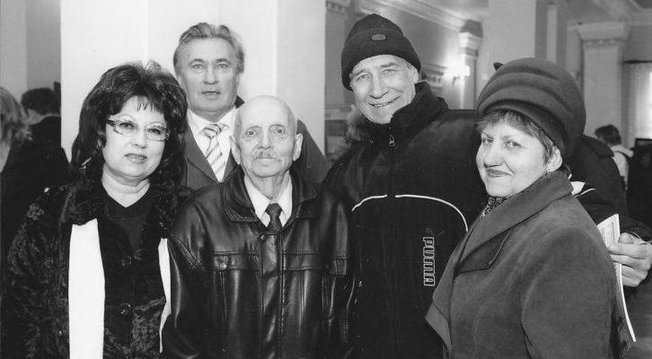 Микола Самохін з друзями