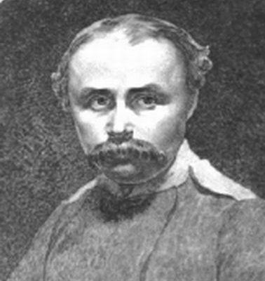 Автопортрет Шевченка в період його перебування у війську