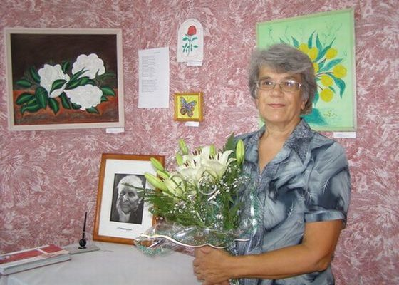 Людмила Зайцева, художник, поет.