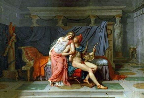 Жак Луи Давид. Любовь Париса и Елены.