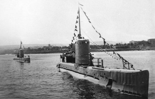 Підводний човен Малютка М-62.