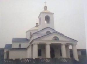 Відновлений Свято-Миколаївський храм  в селі Андріївка
