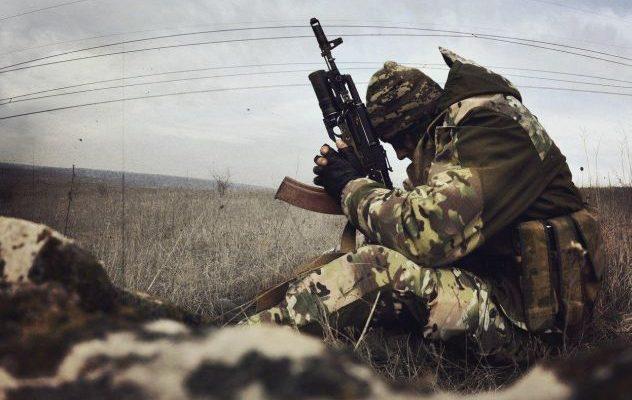 Український воїн АТО