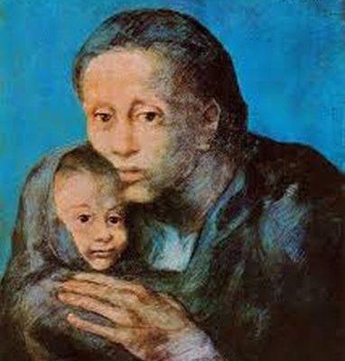Пабло Пікассо. Мати й син.