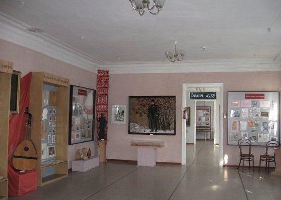 Шевченківська експозиція в Роменському краєзнавчому музеї