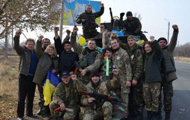 Волонтери та воїни Роменщини на Донбасі