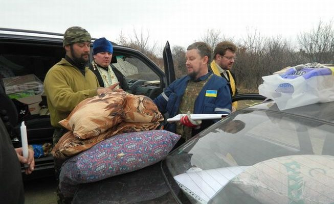 Роменські волонтери на Донбасі