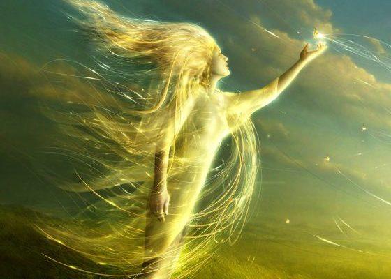 Дівчинка-вітер