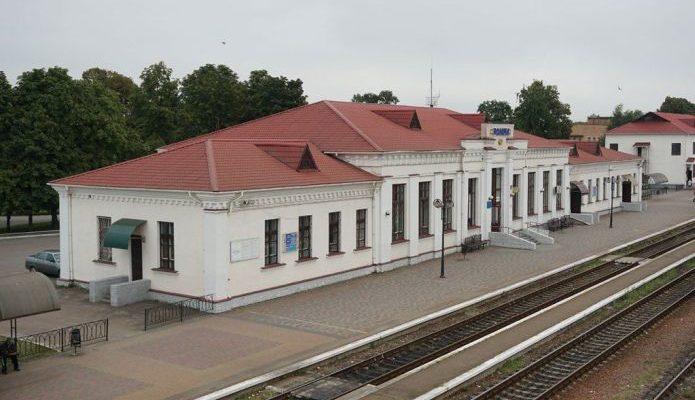 Ромны, ЖД-вокзал