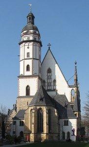 У Лейпцигу М. Бутович підкорив мистецьку богему... Церква святого Фоми у Лейпцигу