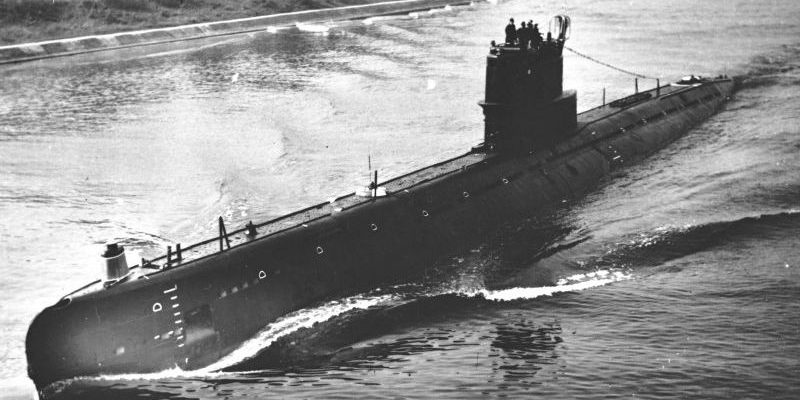 Подводная лодка 613 проекта