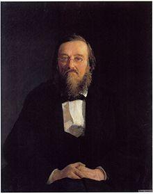Портрет М.І.Костомарова художника Миколи Ґе.1878 р.