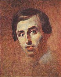 Портрет П. Куліша роботи Т.Г.Шевченка. (1843-1847 рр. ж.)