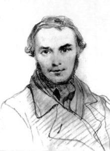 Т.Г.Шевченко. Автопортрет. с. Потоки. (Кінець серпня 1845 р.).