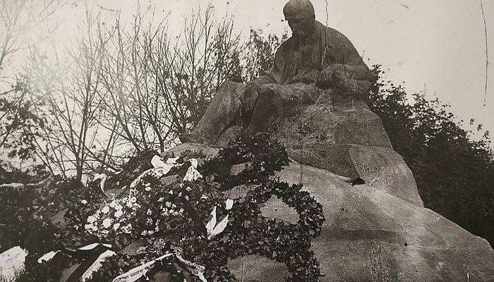 Старе фото: пам'ятник Т. Г. Шевченка