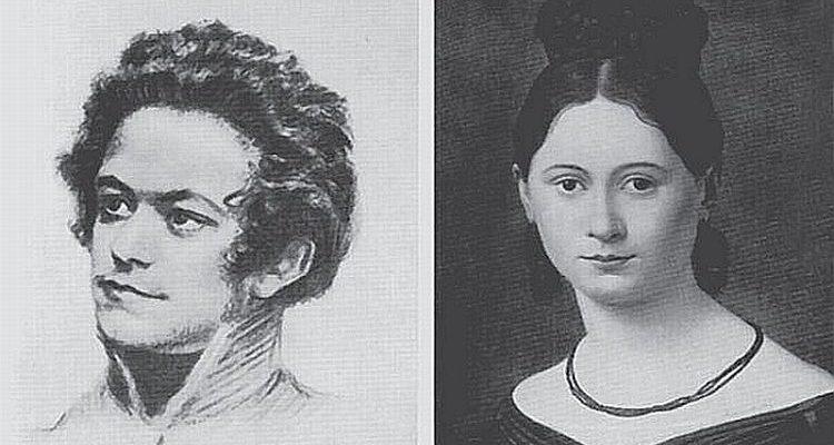 Карл Маркс та Дженні Вестфален